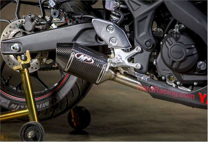 2015 Yamaha R3 M4 Street Slayer Slipon