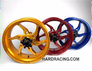 CARROZZERIA WHEELS APEX6 FORGED ALUMINUM
