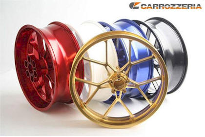 CARROZZERIA WHEELS VTRACK