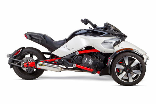 Can Am Spyder F3 Two Brothers exhaust