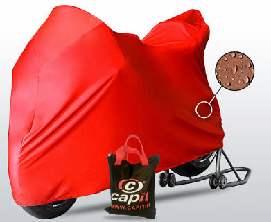 Capit Bike cover motorcycle red