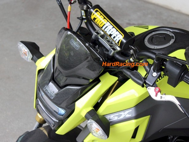 tyga performance fly screen honda grom