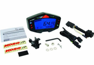 Koso gauge  DB-03R multifunction plug and play Honda Grom