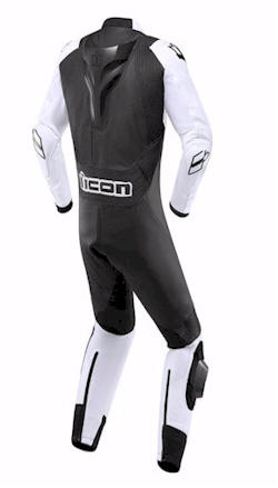 ICON BLACKWHITE SUIT REAR