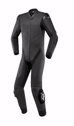 ICON HYPERSPORT SUIT BLACK FRONT