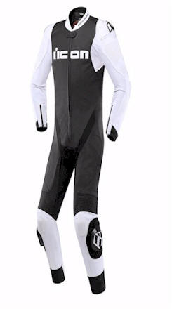 ICON HYPERSPORT SUIT BLACK WHITE