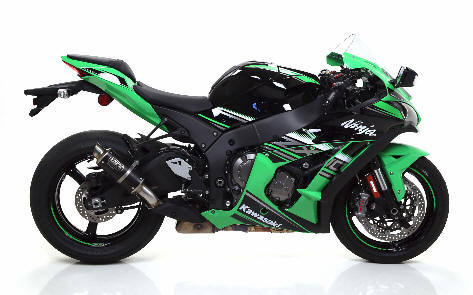 Arrow GP2 Steel Dark exhaust Kawasaki ZX10r