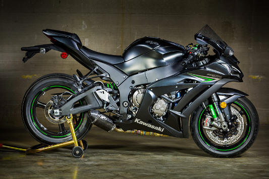 M4 exhaust street slayer Kawasaki ZX10r
