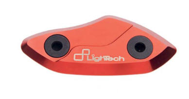 mirror block off plate LighTech red