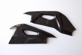 light tech carbon fiber parts arm protection