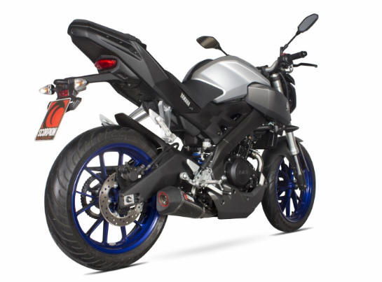Yamaha Mt125 2014-2017  Scorpion exhaust