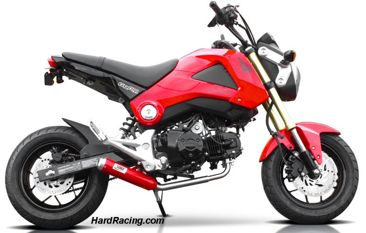 hmf full exhaust red grom