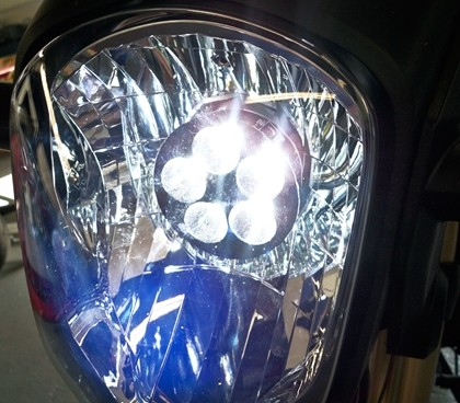 led headlight conversion grom