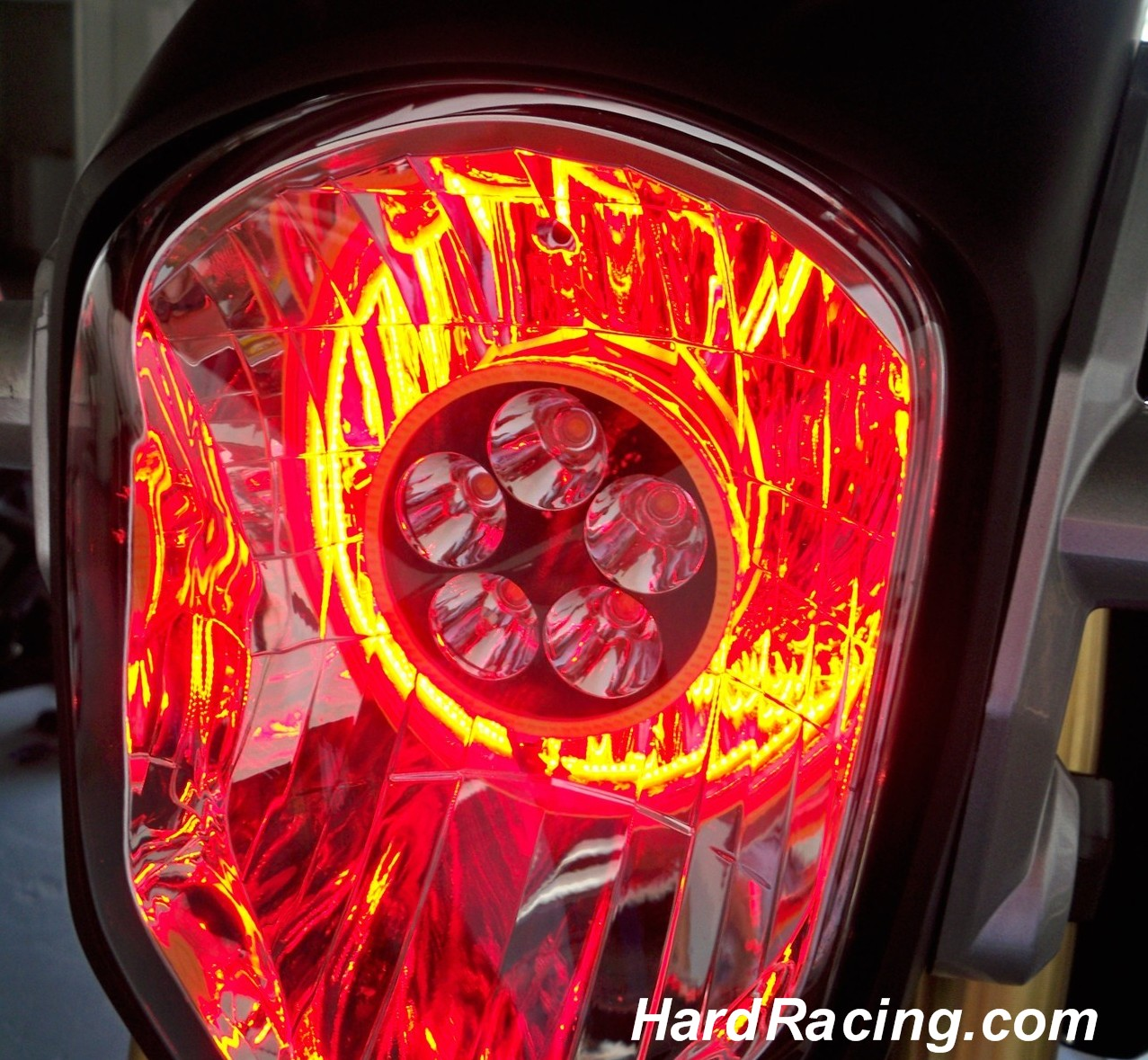 LED Headlight conversion honda grom