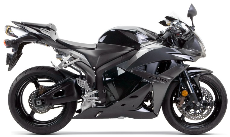 two brothers CBR600RR black bike