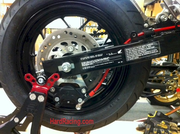 rear brake adapter and brembo caliper upgrade honda grom