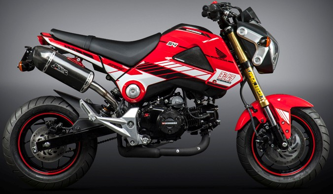 yoshimura grapics kit red grom
